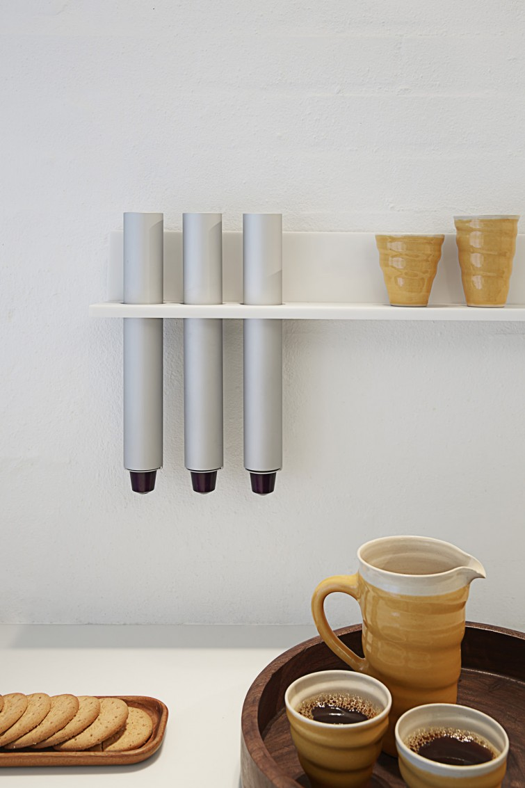 STRAIGHTS designed by Lars Vejen Nespresso
