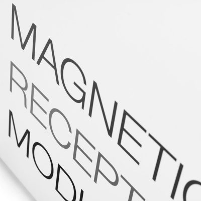 BLACKBOX magnetic reception modules designed by Lars Vejen for JENSENplus