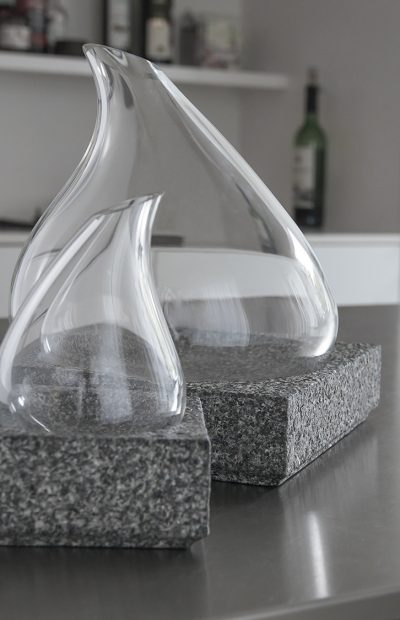 COOL CARAFE design Lars Vejen for Nishimura Stone and Stenholt Glass 02