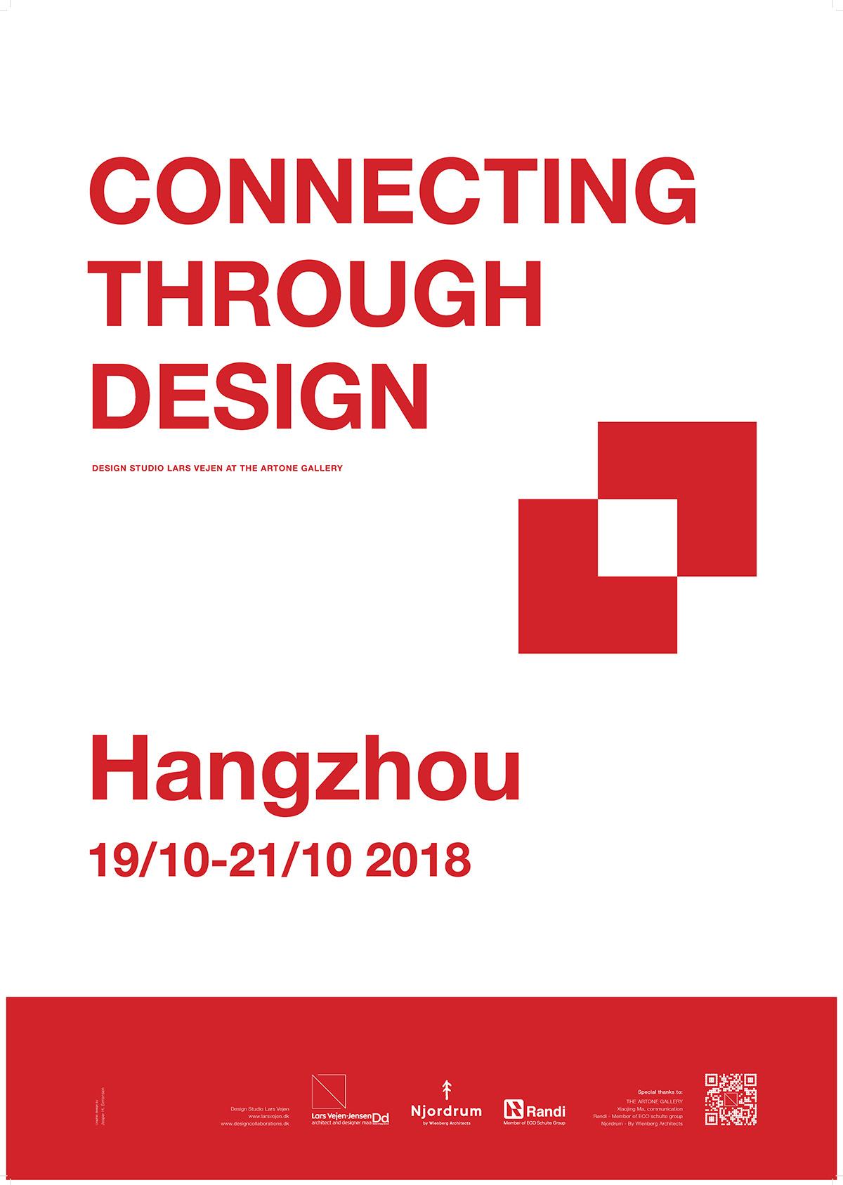 Lars Vejen at ARTONE gallery Hangzhou Poster_EN_2