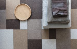 Afloor felt carpet by Lars Vejen for Fraster