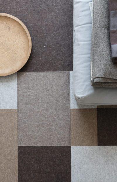 Afloor felt carpet by Lars Vejen for Fraster