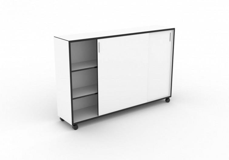 BLACKBOX office furniture 2.0 1800 by Lars Vejen for Jensenplus