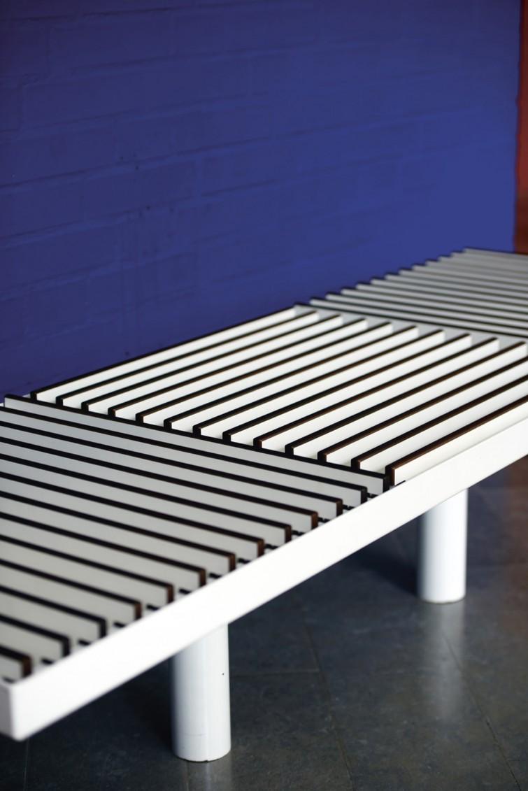 GRID modular bench designed by Lars Vejen for HAGS