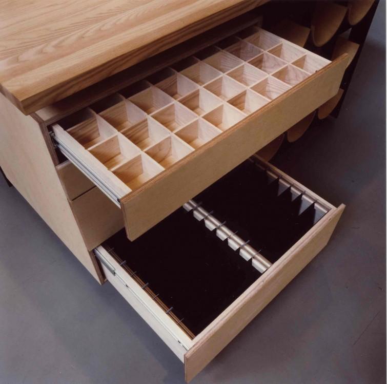 A tailors table Graduation project designed by Lars Vejen