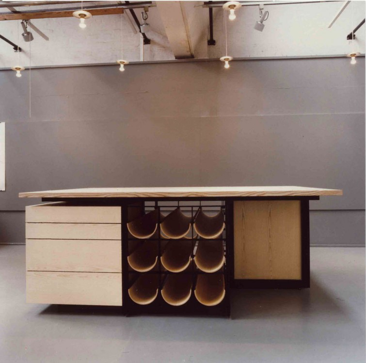 A tailors table Graduation project designed by Lars Vejen project tailor table by Lars Vejen