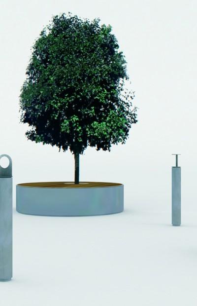 SOLID concrete outdoor furniture by Lars Vejen for Veksoe