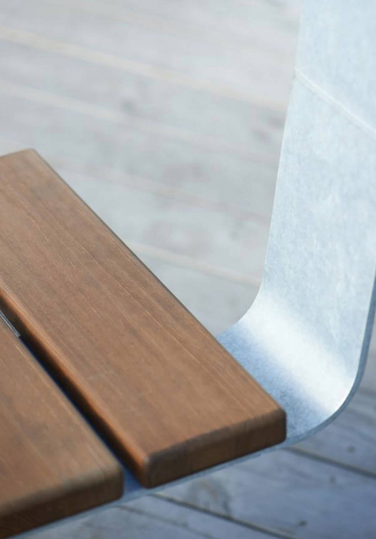 SPIN bench by Lars Vejen for HAGS