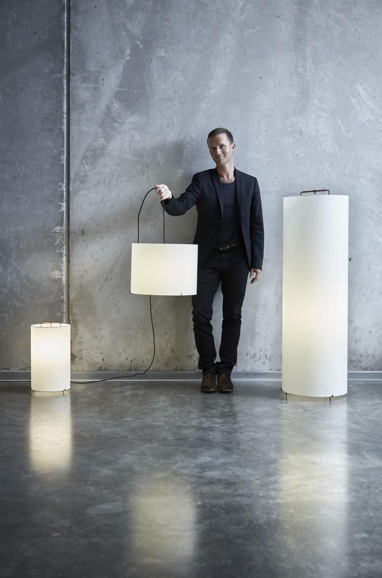 MOON lamp series designed by Lars Vejen for JENSENplus