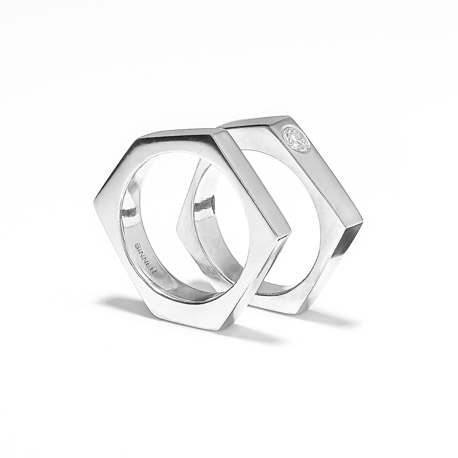 CUTS jewelry designed by Bodil Binner and Lars Vejen
