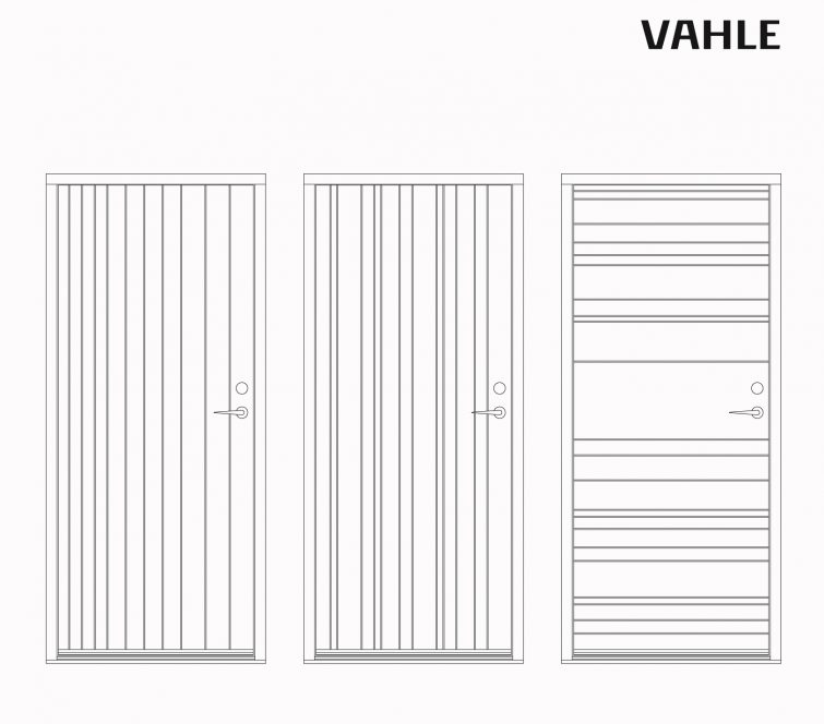 Lars Vejen door series for VAHLE