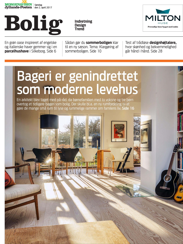 Bageri er genindrettet som modesignet af Arkitekt Lars Vejen 01