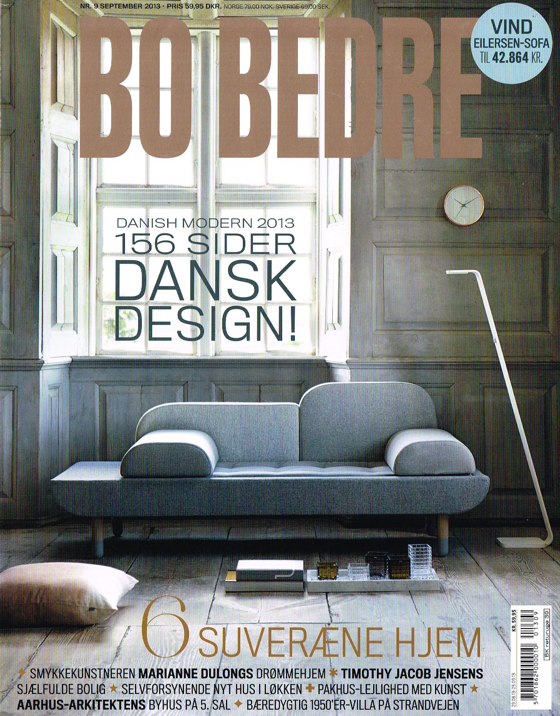 Bo Bedre Danish issue Lars Vejen september 2013