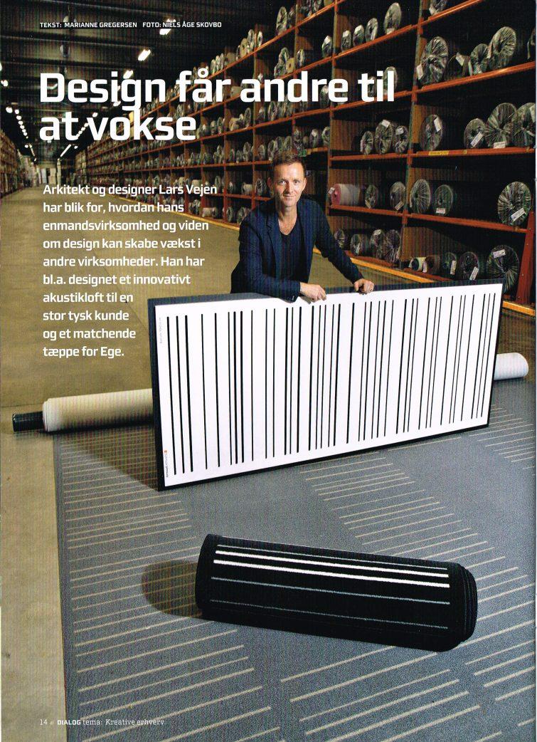 DIALOG magasin #31 Lars Vejen artikel i magasinet DIALOG 2016