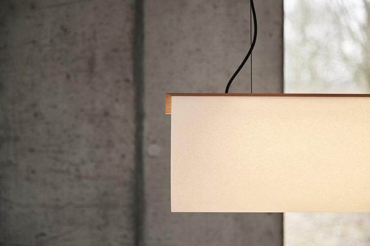 ENSO lamp design Lars Vejen for KOHSEKI