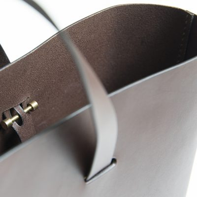 CUT bag by Lars Vejen for Leather By Hand 02