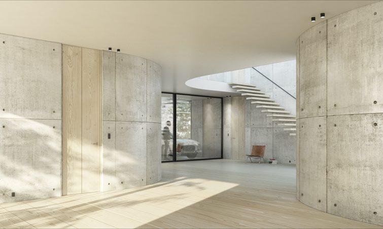 Dinesen FRAMED by Vahle_designed by Lars Vejen Visualisation by ARDESS