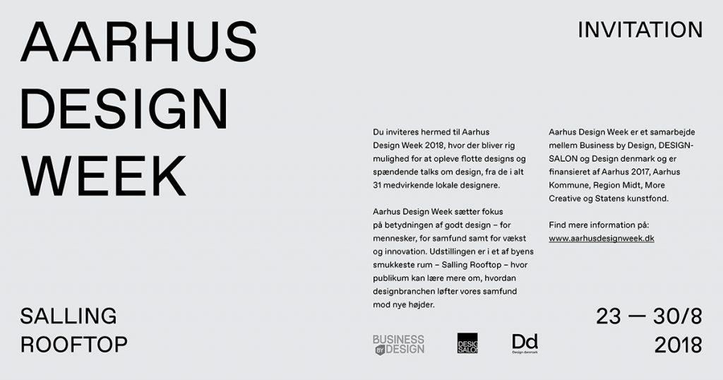 Aarhus Design Week Lars Vejen Designdenmark DesignSalon BusinessbyDesign