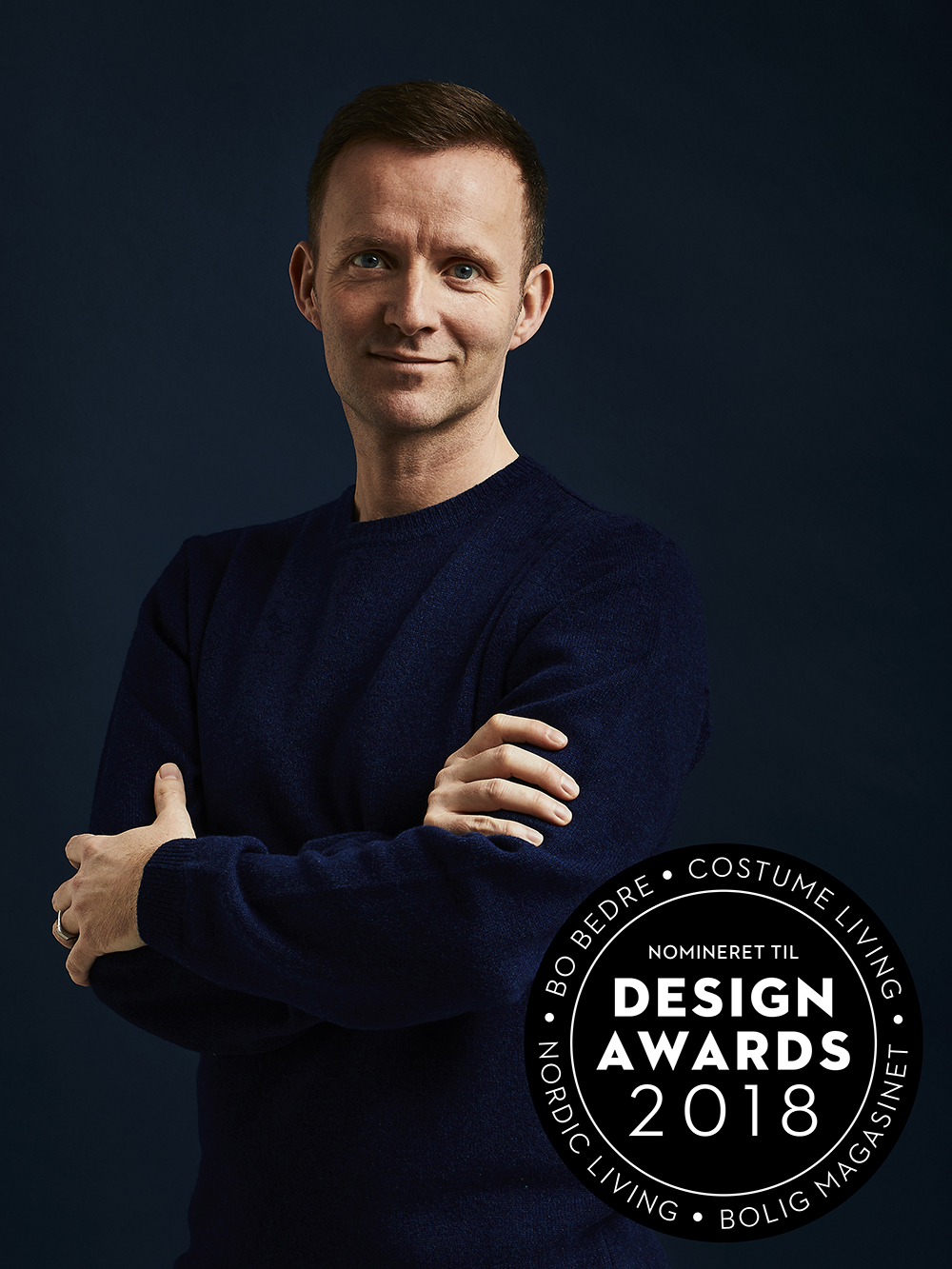 Lars Vejen Nomineret til Årets Designer Design Award 2018 Photo by Dejan Alankhan