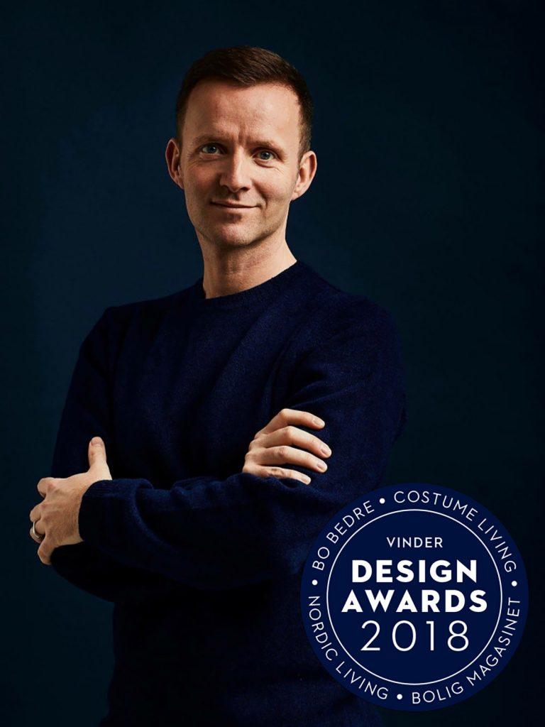 Lars Vejen Vinder Årets Designer Design Award 2018 Photo by Dejan Alankhan