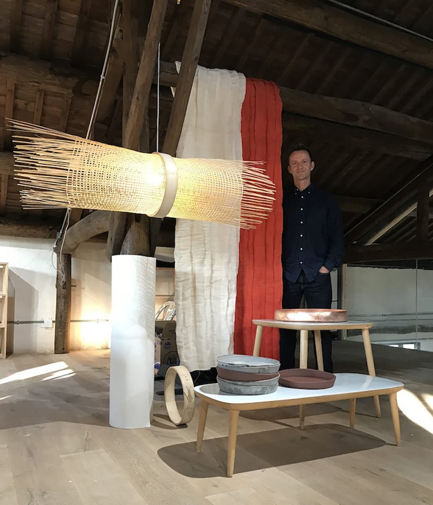 Lars Vejen at RONG design library 2018